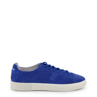 Bikkembergs COSMOS_2100-SUEDE_BLUE-WHT